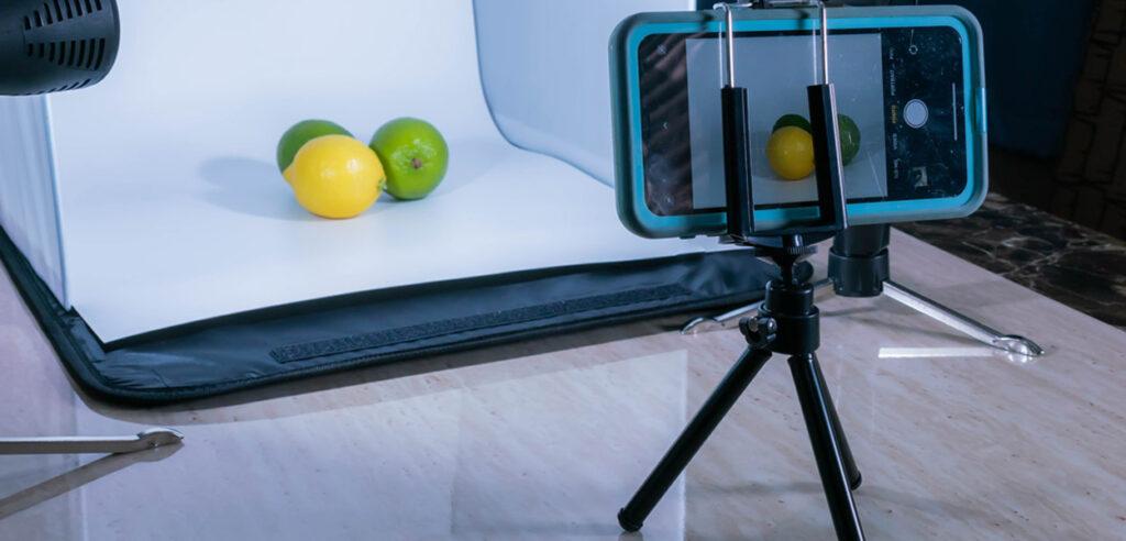 سه پایه برای عکاسی از محصولات