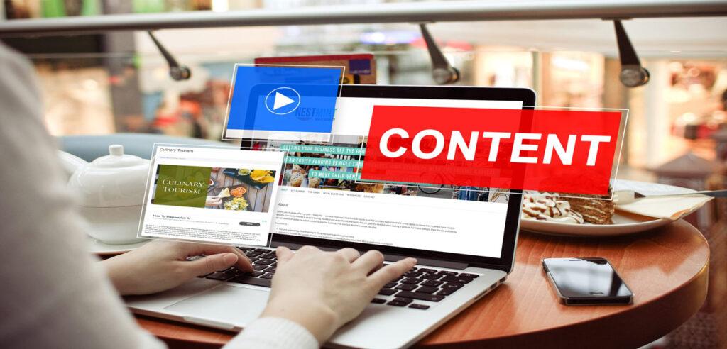 مزایای تولید محتوا برای فروشگاه اینترنتی